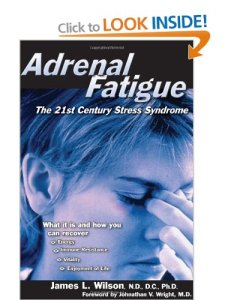 adrenal fatigue book dr wilson