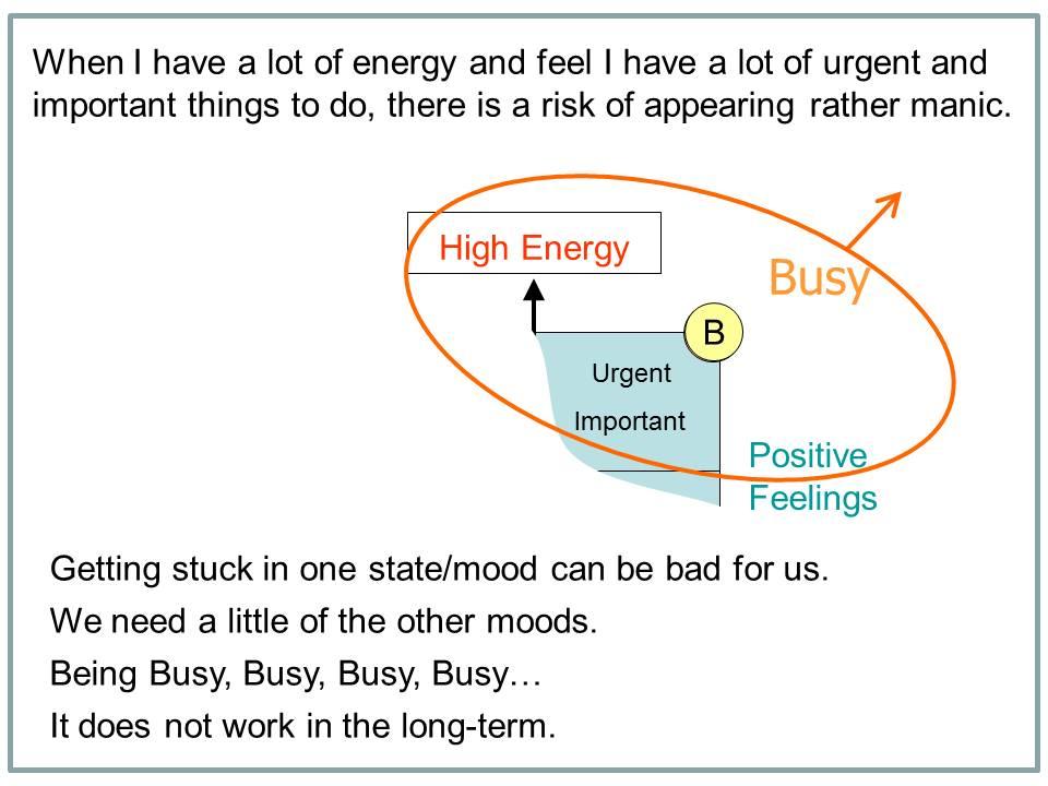 How I Beat Bipolar - example slide